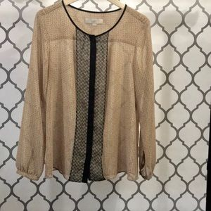 Ann Taylor LOFT Beautiful Blouse